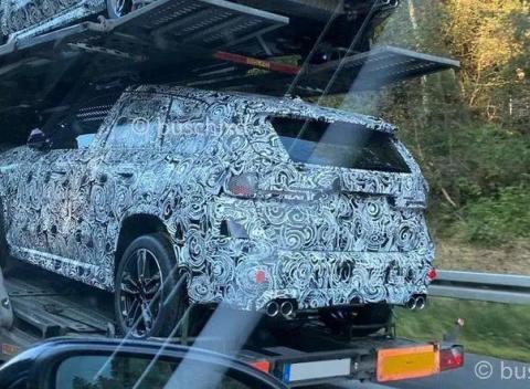 入门级高性能SUV,新款宝马X1 M海外谍照曝光