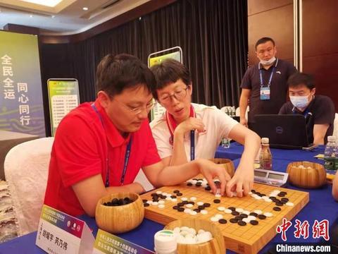 第十四届全运会围棋比赛首金诞生胡耀宇/芮乃伟夺混双公开组冠军