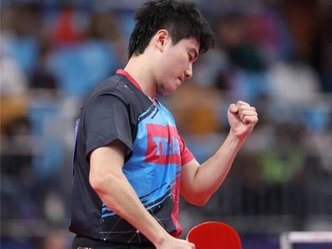 全运会乒乓球男团:梁靖崑横扫许昕 马龙苦战取胜