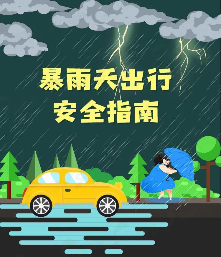 刚刚,日照发布暴雨橙色预警!这些地方降雨量大!