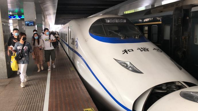 沪宁城际铁路常锡间突发状况,致部分高铁晚点延误