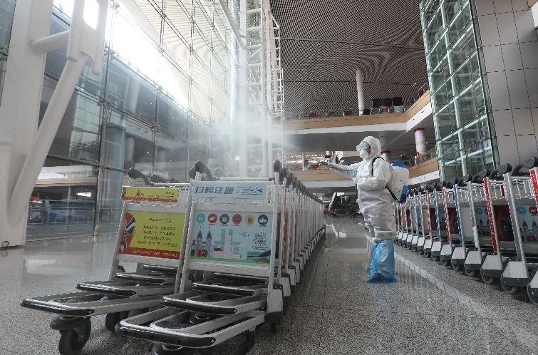 刷身份证可核验健康码!双节,重庆机场预计每日航班900架次