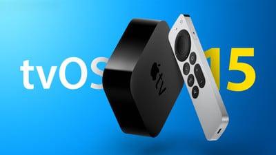 苹果 Apple TV 推送 tvOS 15 更新:新增空间音频等