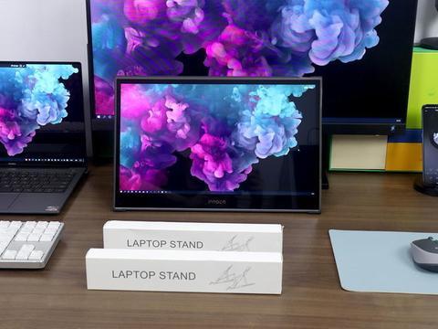 多屏视角,自由调节:ORICO便携笔记本电脑支架体验