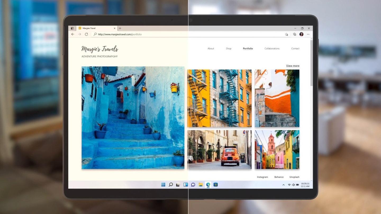 微软Win11笔记本Surface Pro 8发布:13英寸120Hz窄边框显示屏