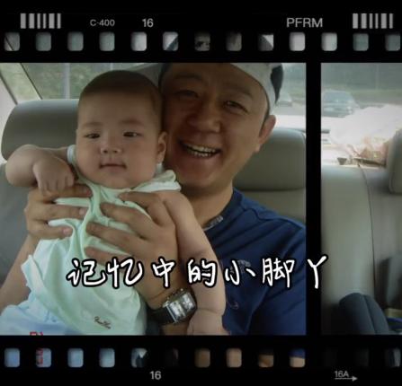 郭涛分享儿子成长视频,14岁石头身高赶超妈妈