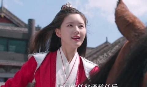 国子监来了个女弟子:赵露思红衣造型半永久,简直帅呆了