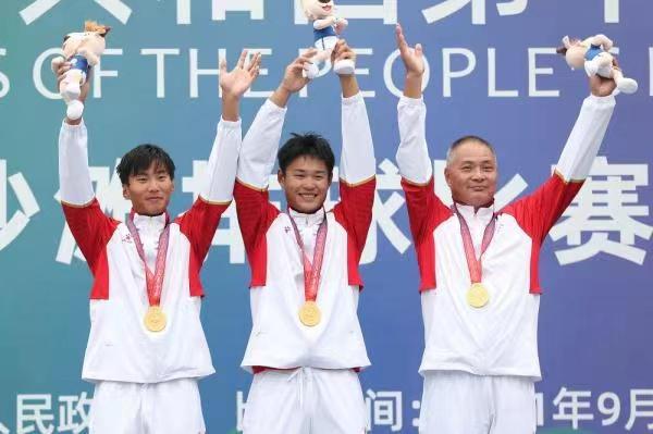 义乌三中这位沙排运动员夺得第十四届全运会冠军