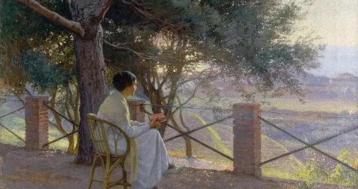 芬兰第一代女性艺术家之一,艾琳·丹尼尔森的油画作品欣赏