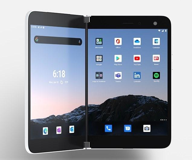 微软:初代 Surface Duo 将在年内获得 Android 11 更新