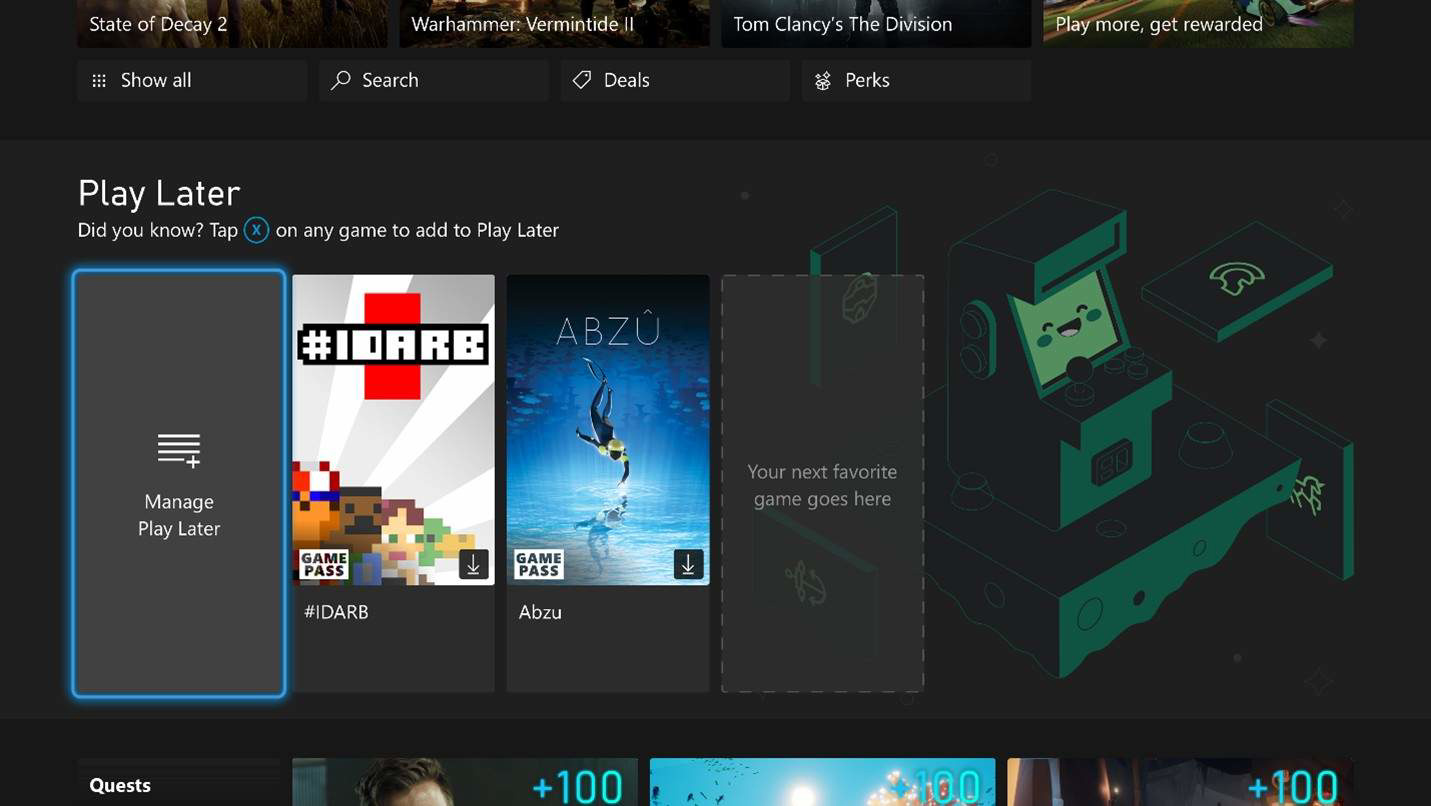 微软 Xbox 9 月固件更新带来 Edge 浏览器,新增待玩游戏列表
