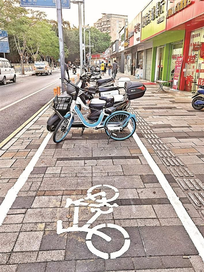 """小轿车电单车有了更多""""容身处"""" 光明区全面改善提升辖区车辆停放秩序"""