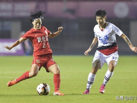 全运会女足冠军出炉,联合队1球胜上海队,凌空抽射+金牌