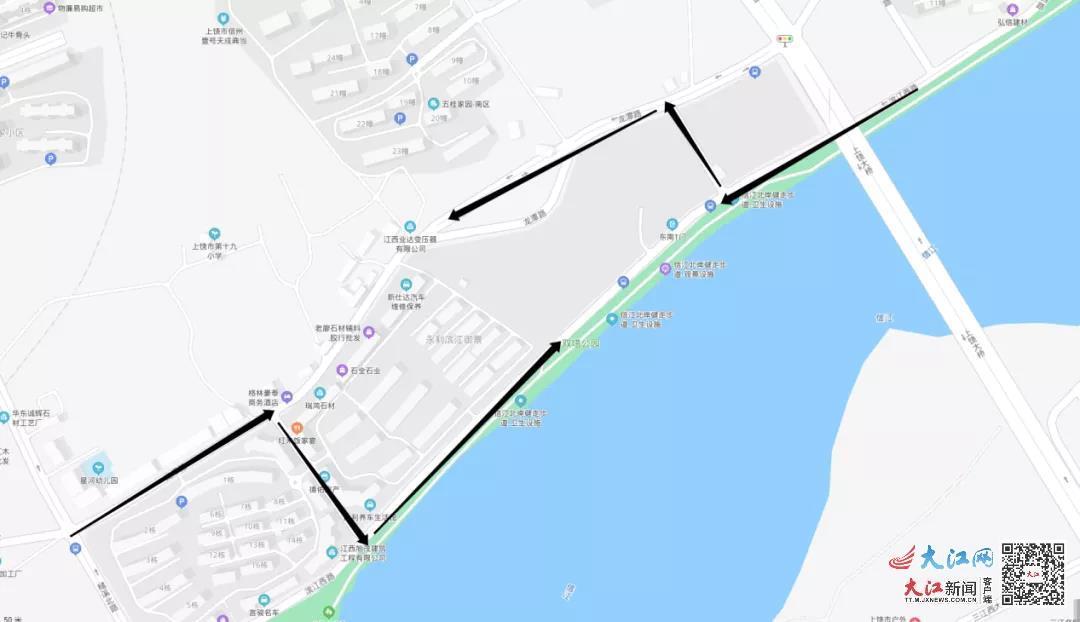关于2路、18路、22路等6条公交线路临时调整的公告