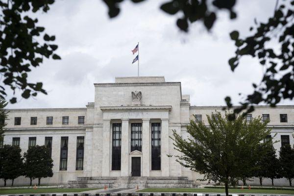 这是9月22日在美国华盛顿拍摄的美国联邦储备委员会大楼。新华社记者刘杰摄