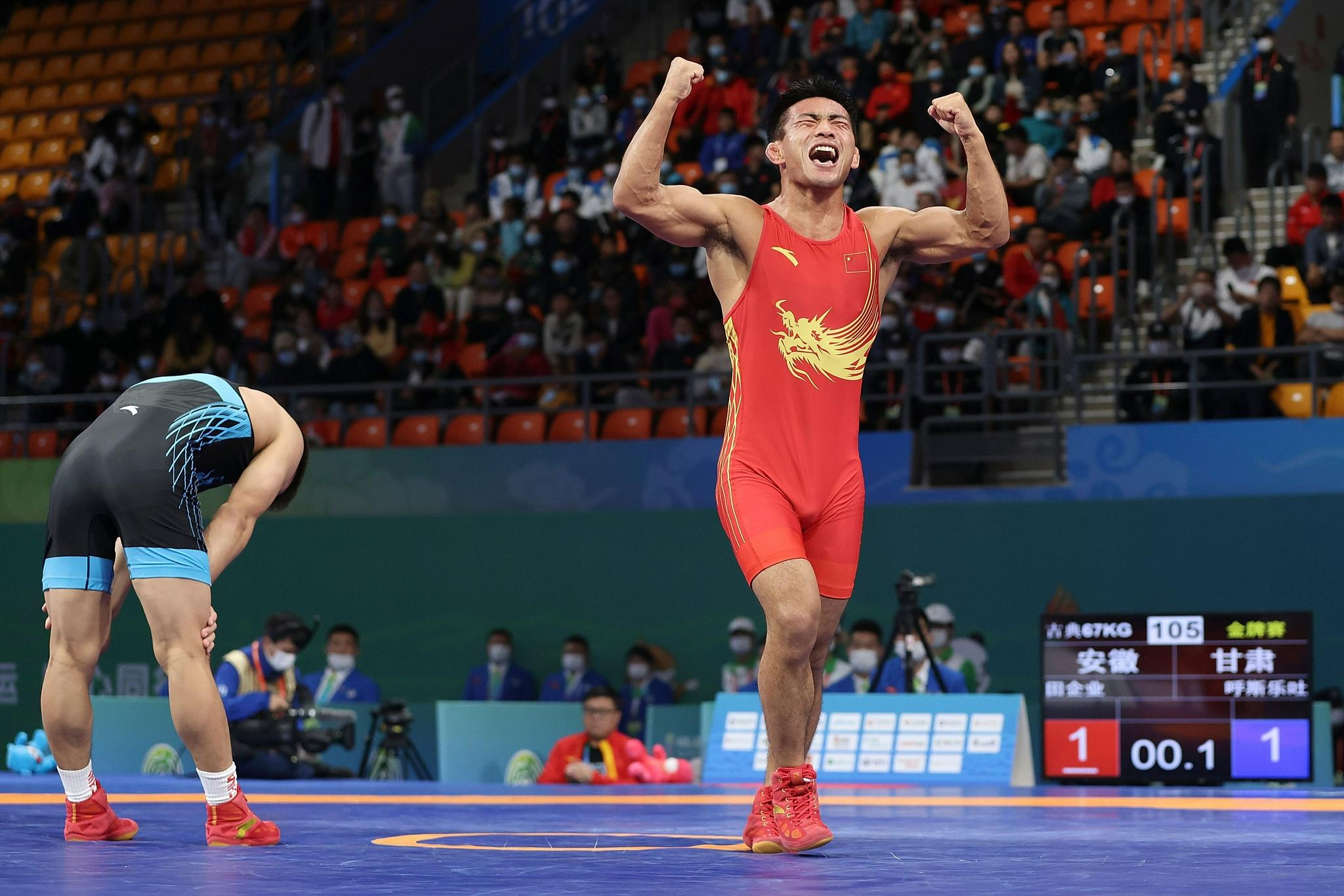 全运会|摔跤综合:四名奥运选手1金未得 三名上届亚军摘金