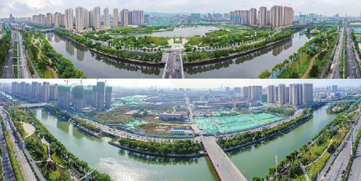"""北城新""""明珠""""与小清河牵手成景"""