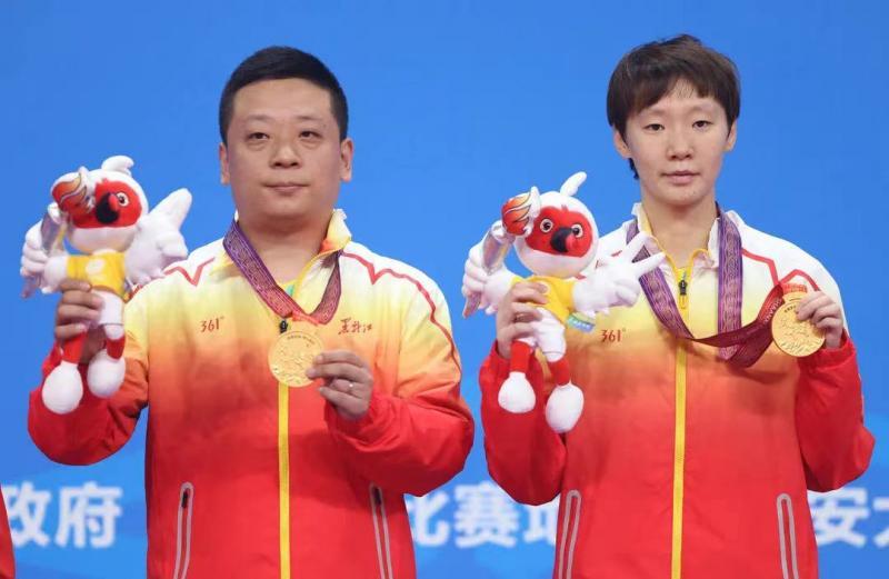 全运会 | 王曼昱:奥运会是人生转折点 整个人升华了很多