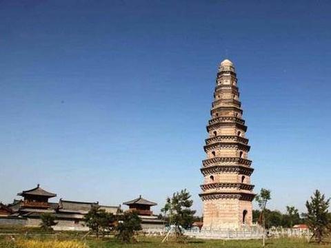 河南滑县唐朝宝历年间修建的千佛塔