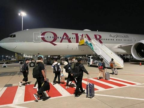 卡塔尔航空为中国留学生提供返校包机服务