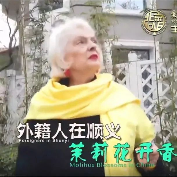 """【2020""""爱上北京的100个理由""""获奖短视频展播】外籍人在顺义——茉莉花开香满园"""
