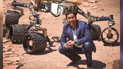 "NASA华人科学家驾驶""毅力号""驰骋火星"