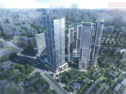 万科长沙市中心项目公示!双地铁+超高层