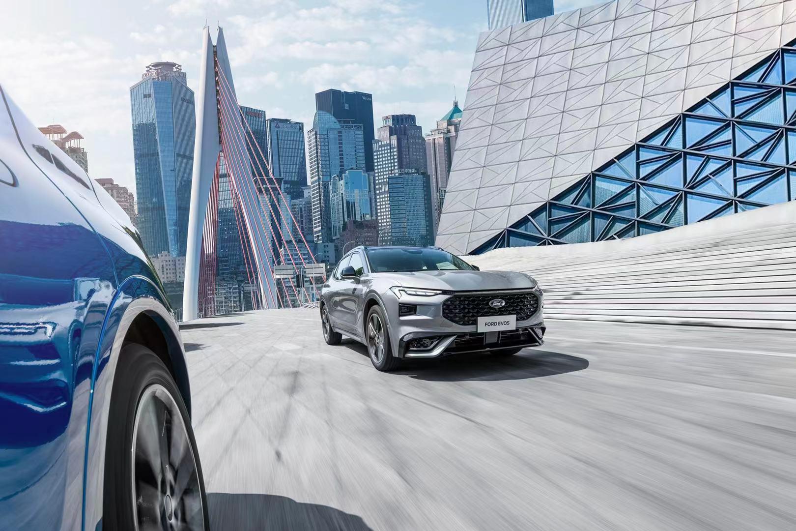 长安福特全新SUV EVOS剑指冠道、昂科威