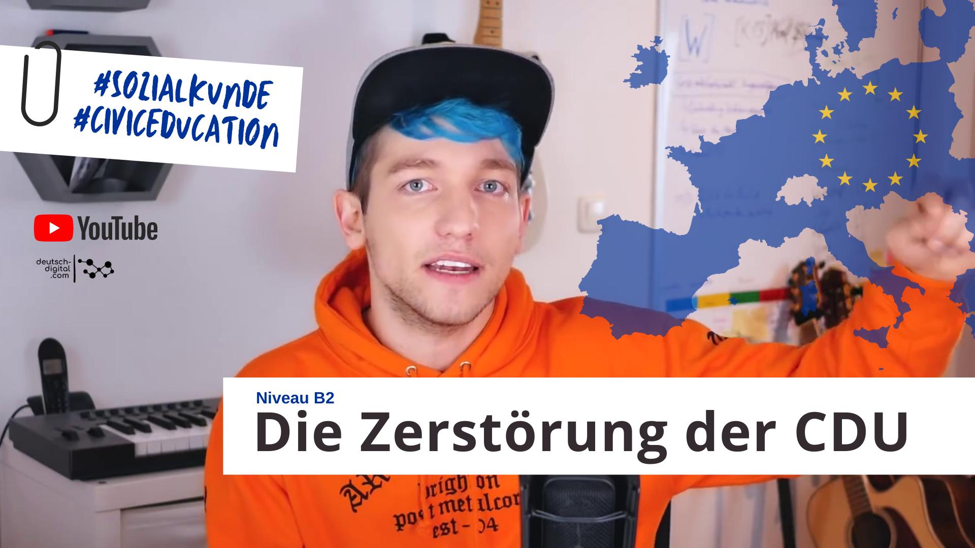 """德国网红""""Rezo""""在网上发视频,炮轰基民盟"""