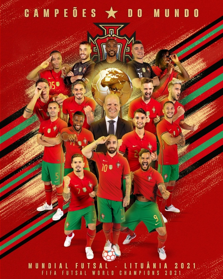 FIFA室内五人制足球世界杯 葡萄牙2-1阿根廷夺冠