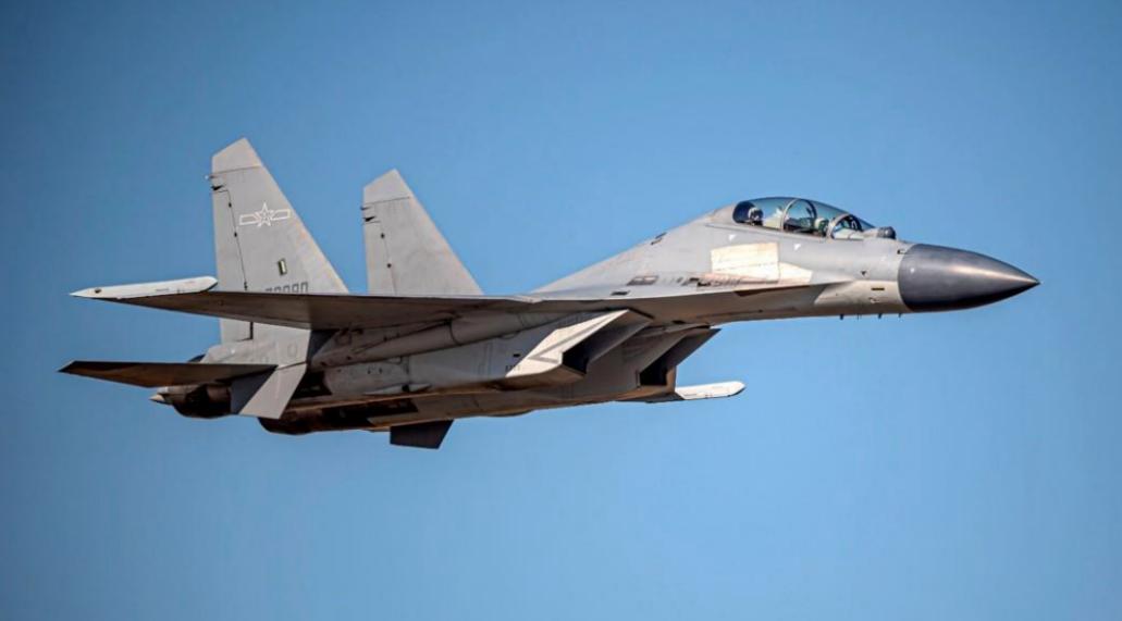 歼-16(同型机)图自台防务部门官网