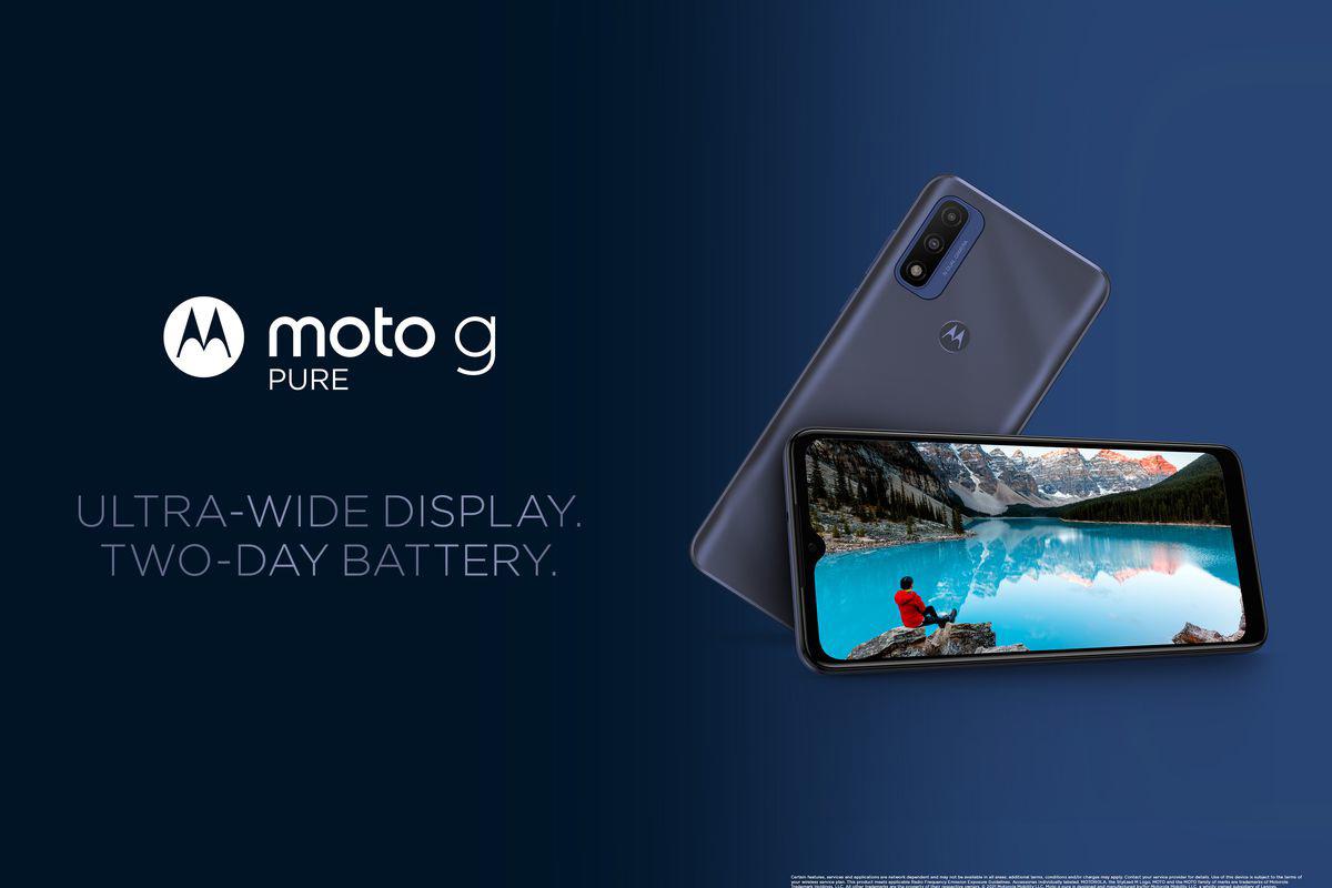 160 美元,摩托罗拉 Moto G Pure 手机发布:搭载 Helio G25 芯片