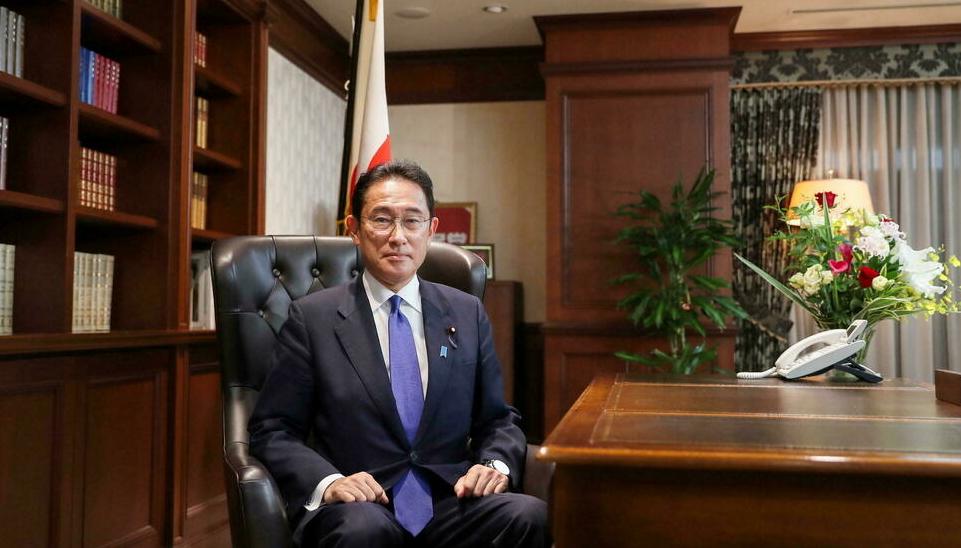 日本自民党新任总裁岸田文雄出任首相(图源:路透社)