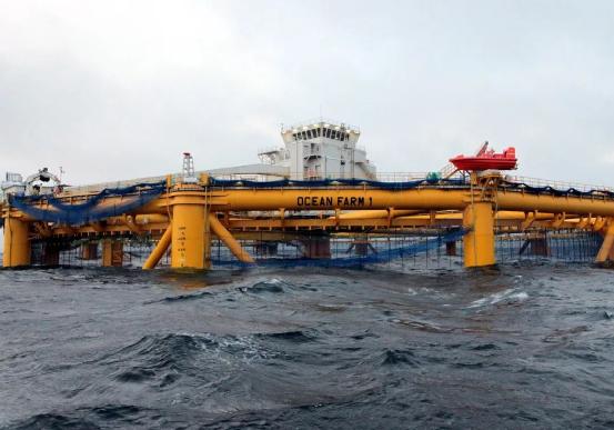 """挪威萨马尔集团订购的""""海洋渔场1号""""是世界首座半潜式智能海上渔场"""
