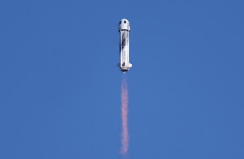 蓝色起源成功进行第二次载人飞行,美物理学家称其早已落后于SpaceX