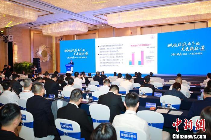深化融合发展 2021年两岸(昆山)产业合作论坛在昆山启幕