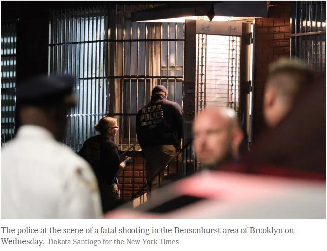 纽约华裔女警察开枪打死前女友的现女友