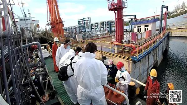 中国海警局直属第四局破获一起特大海上成品油走私案