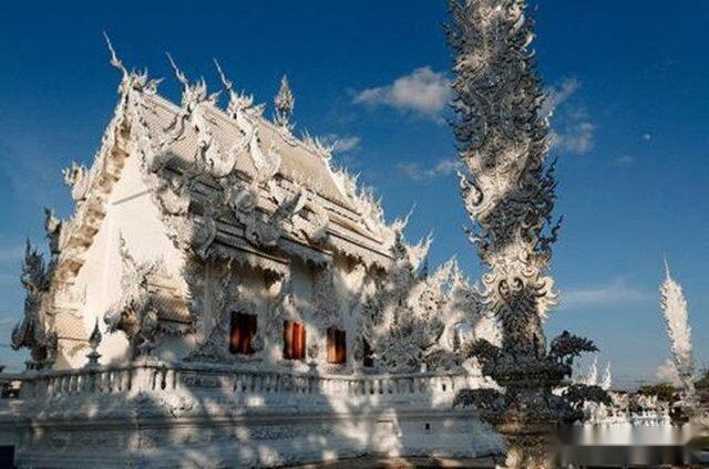 世界第一白的寺庙,泰国白龙寺,建造仍在进行