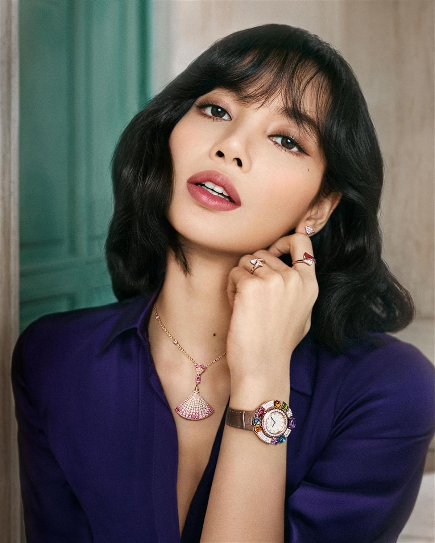 LISA全情演绎宝格丽2021全新Divas Dream系列珠宝