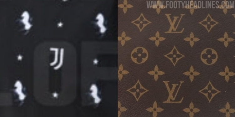 装备网站:阿迪准备为下赛季的尤文设计一款带有LV风格的球衣