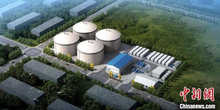 """国内首个""""新型二氧化碳储能验证项目""""在东方汽轮机开工建设"""