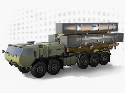 美国陆军公布最新高超音速武器渲染图,将于2021年末开始综合测试