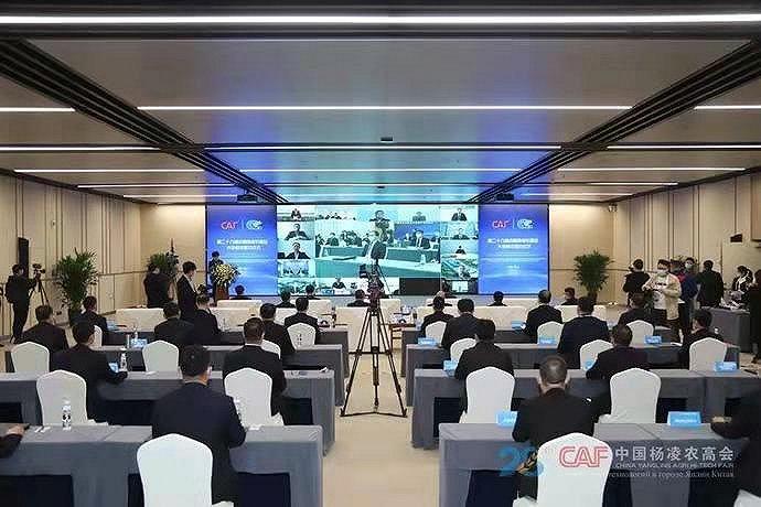 总额906.44亿,第28届杨凌农高会大会集中签约94个项目