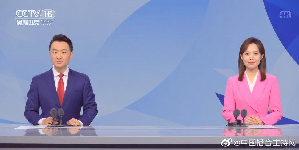 央视奥林匹克频道正式开播 主持人郭强、刘柏伶首秀