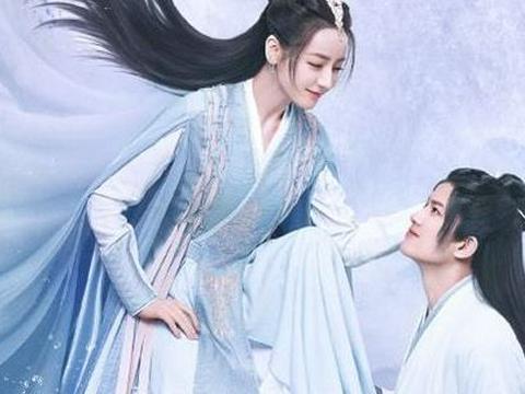 迪丽热巴新剧的搭档是32岁的当红小生任嘉伦,网友:熬夜追定了