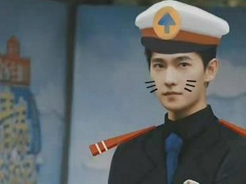 双制服的魅力:杨洋cos黑猫警长,范丞丞cos尼克