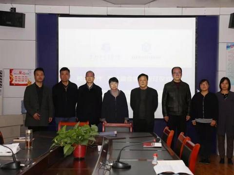 咸阳市秦都区职业教育中心举行校企合作签约仪式