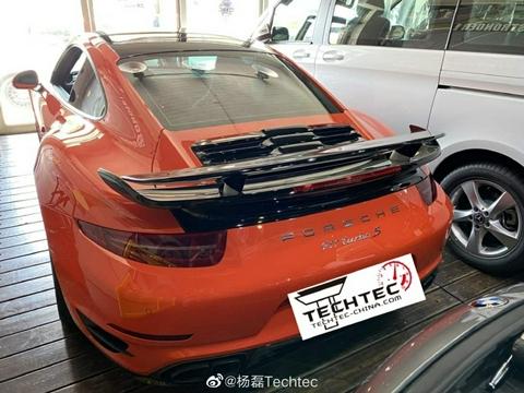 保时捷911 Turbo S(991 3.8T)刷ECU改装德国TECHTEC改装电脑