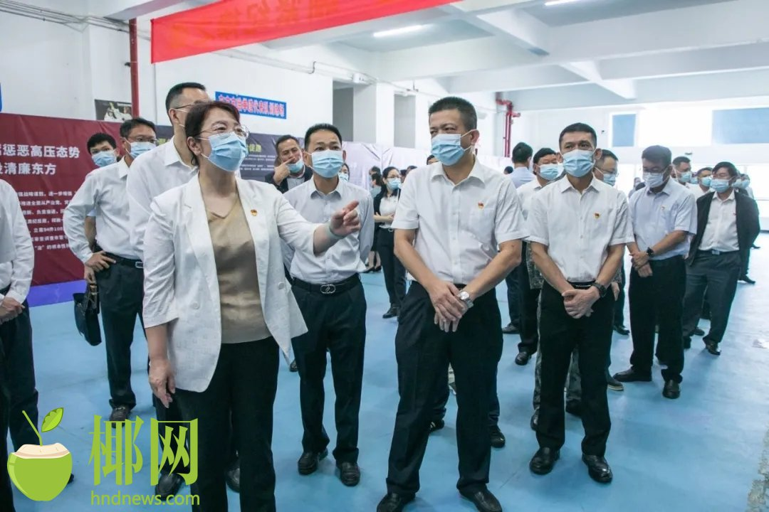 2021年海南全省党员干部警示教育东方巡回展开展